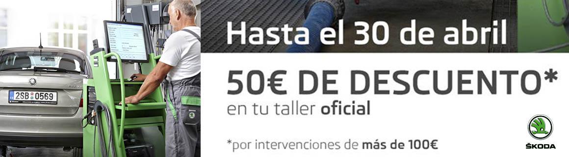 Promo Skoda 50€