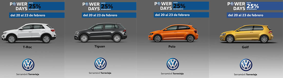 Power Days Torrevieja VW