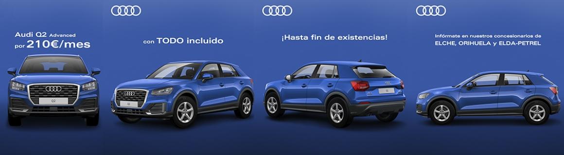 Audi Q2 por 210€ - marzo