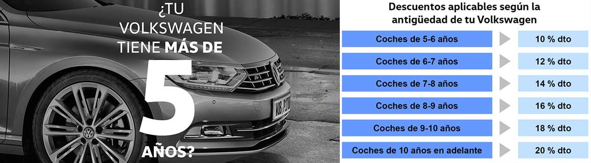 Promo 5 años VW postventa