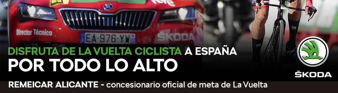 La Vuelta Ciclista España Skoda agosto 2019