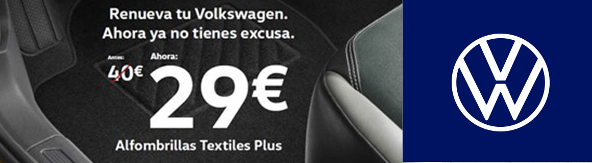 Promo alfombrillas Vw