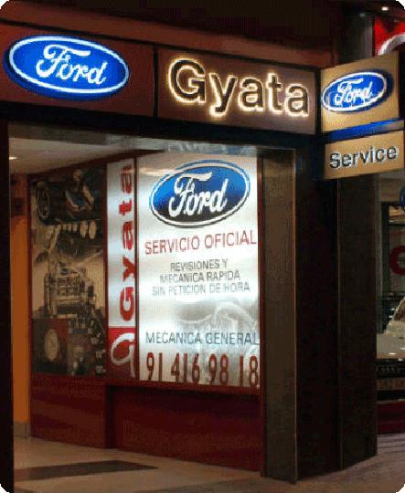 Taller de coches multimarca y servicio Oficial Ford en Madrid