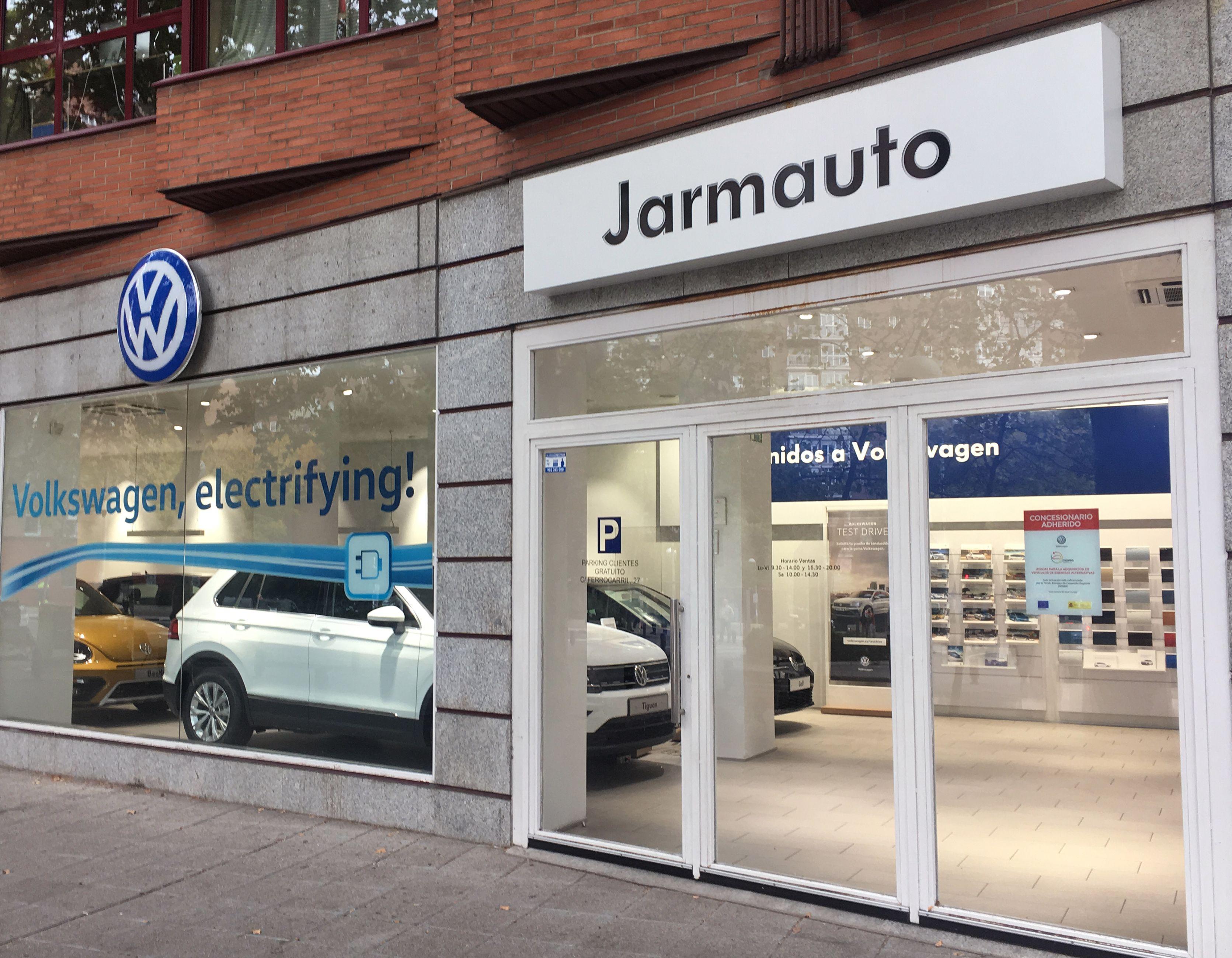Jarmauto tienda Ayala